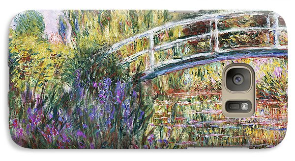 Lily Galaxy S7 Case - The Japanese Bridge by Claude Monet