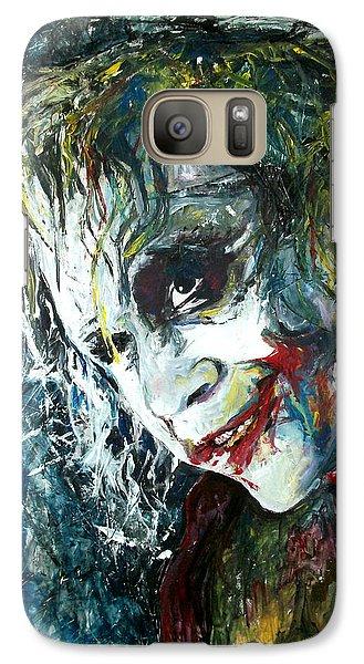 The Joker - Heath Ledger Galaxy S7 Case