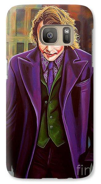 Knight Galaxy S7 Case - The Joker In Batman  by Paul Meijering