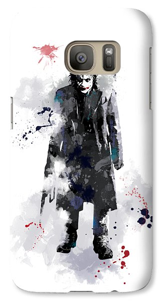 The Joker Galaxy S7 Case by Marlene Watson