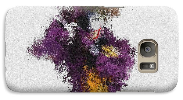 The Joker Galaxy S7 Case by Miranda Sether