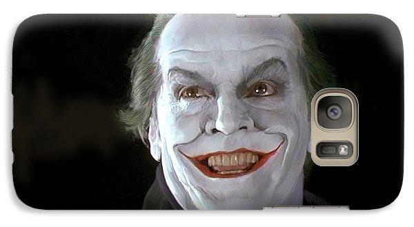 The Joker Galaxy S7 Case by Paul Tagliamonte