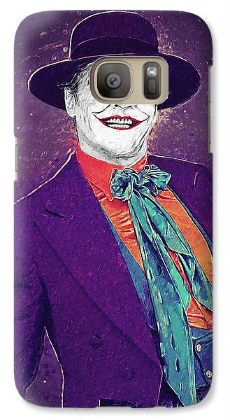 The Joker Galaxy S7 Case by Taylan Apukovska