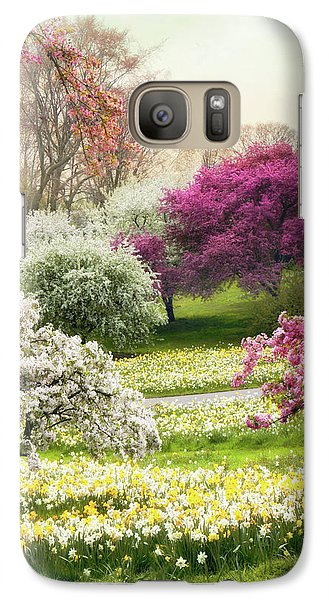 Galaxy Case featuring the photograph The Joy Of Spring by Jessica Jenney