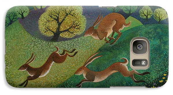The Joy Of Spring Galaxy Case by Lisa Graa Jensen