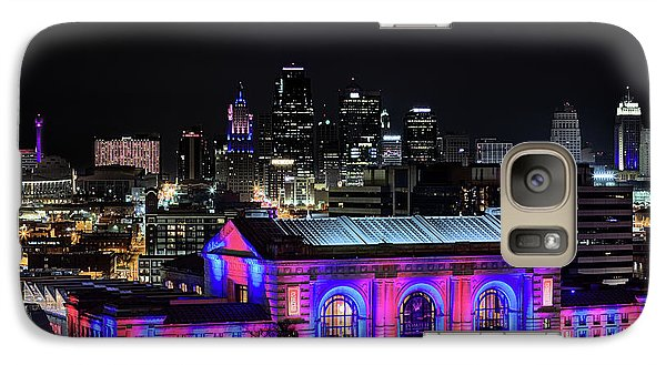 Galaxy S7 Case featuring the photograph The Kansas City Skyline by JC Findley