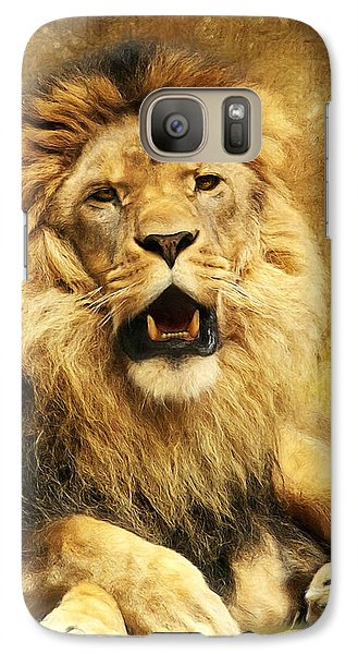 The King Galaxy S7 Case by Angela Doelling AD DESIGN Photo and PhotoArt