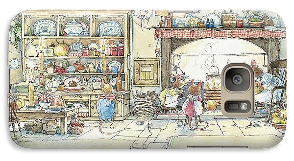 The Kitchen At Crabapple Cottage Galaxy S7 Case