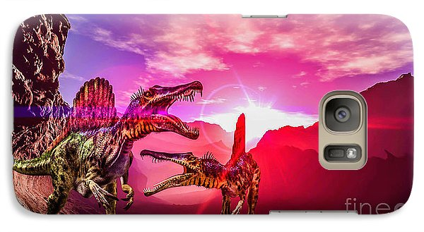 Galaxy Case featuring the photograph The Land Before Time 1 by Naomi Burgess