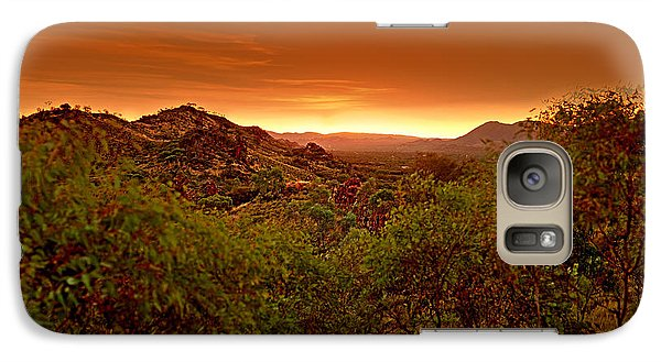 Galaxy Case featuring the photograph The Land Before Time by Paul Svensen
