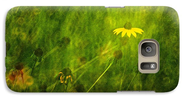 The Last Black-eyed Susan Galaxy S7 Case by  Onyonet  Photo Studios