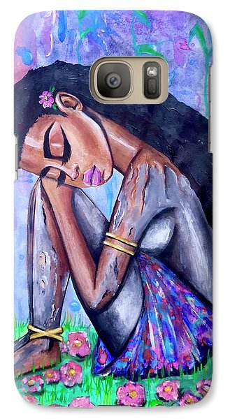 Galaxy S7 Case - The Last Eve In Eden by Artist RiA