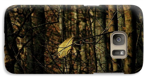 Galaxy Case featuring the photograph The Last Leaf by Bruce Patrick Smith