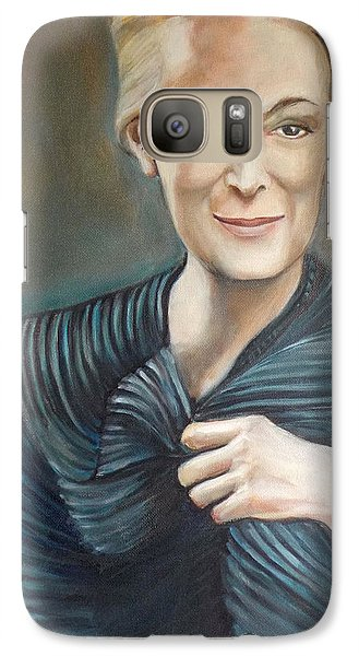 Galaxy Case featuring the painting The Last Pose by Irena Mohr