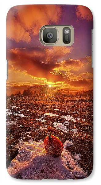 Galaxy Case featuring the photograph The Last Pumpkin by Phil Koch