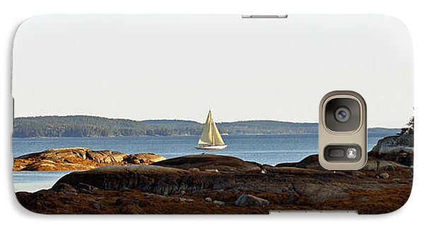 Galaxy Case featuring the photograph The Last Sail by Christopher Mace
