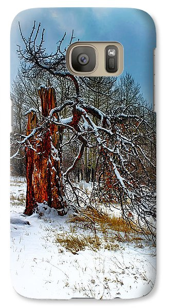 Galaxy Case featuring the photograph The Last Stand by Shane Bechler