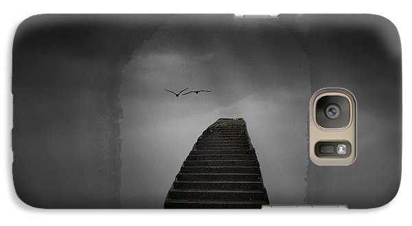Galaxy Case featuring the photograph The Last Steps by Keith Elliott