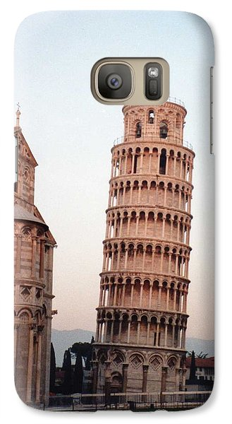Galaxy Case featuring the photograph The Leaning Tower Of Pisa by Marna Edwards Flavell