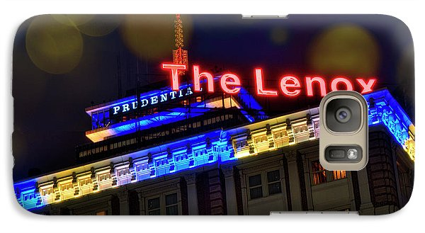 Galaxy Case featuring the photograph The Lenox And The Pru - Boston Marathon Colors by Joann Vitali