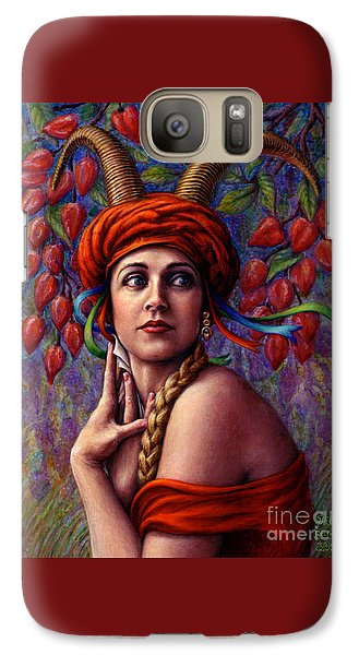 The Letter Galaxy S7 Case by Jane Bucci