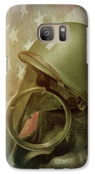 Galaxy Case featuring the photograph The Lieutenant by Tom Mc Nemar