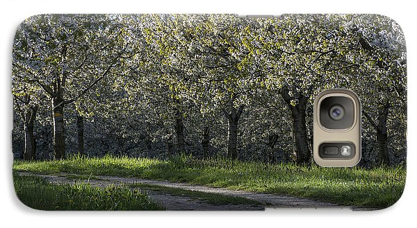 Galaxy Case featuring the photograph The Life Awakes 2 by Bruno Santoro