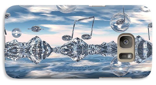 Galaxy Case featuring the digital art The Light Bender Cantata by Michelle H
