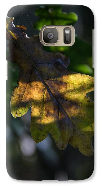 Galaxy Case featuring the photograph The Light Fell Softly by Odd Jeppesen