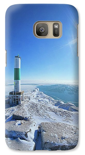 Galaxy Case featuring the photograph The Light Keepers by Phil Koch