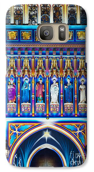 Westminster Abbey Galaxy S7 Case - The Light Of The Spirit by Tim Gainey