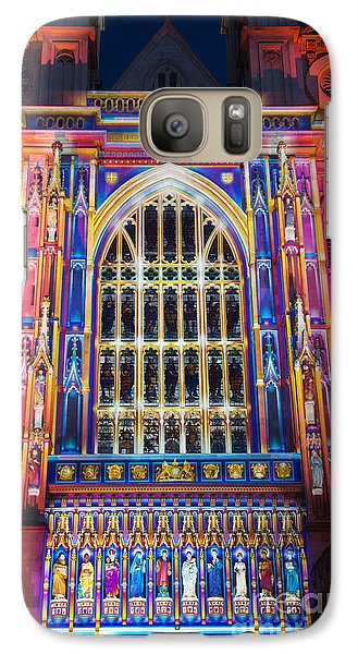 The Light Of The Spirit Westminster Abbey London Galaxy S7 Case by Tim Gainey