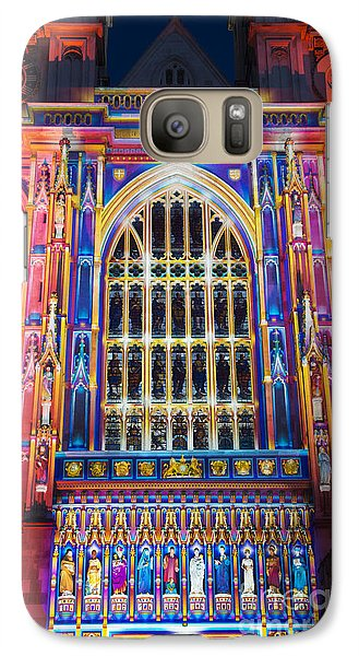 Westminster Abbey Galaxy S7 Case - The Light Of The Spirit Westminster Abbey London by Tim Gainey