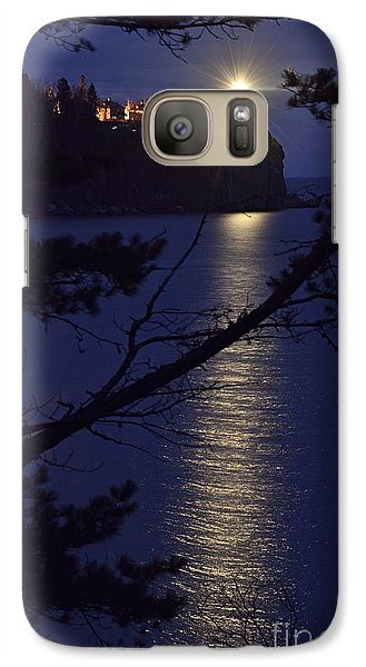 Galaxy Case featuring the photograph The Light Shines Through by Larry Ricker