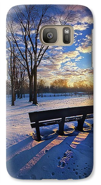 Galaxy Case featuring the photograph The Light That Beckons by Phil Koch