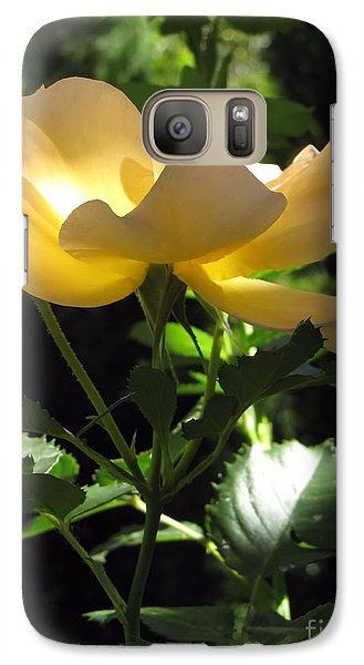 Galaxy Case featuring the photograph The Light Within 2 by Michelle H