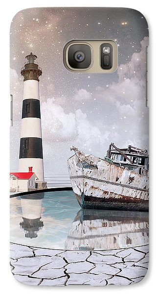 Galaxy Case featuring the photograph The Lighthouse by Juli Scalzi