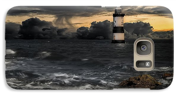 Puffin Galaxy S7 Case - The Lighthouse Storm by Adrian Evans