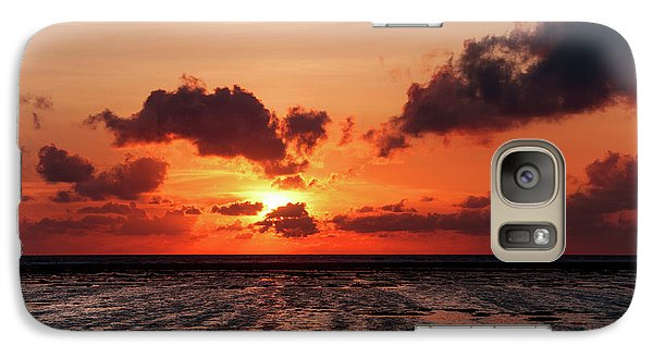 Galaxy Case featuring the photograph The Limitless Loving Devotion by Jenny Rainbow