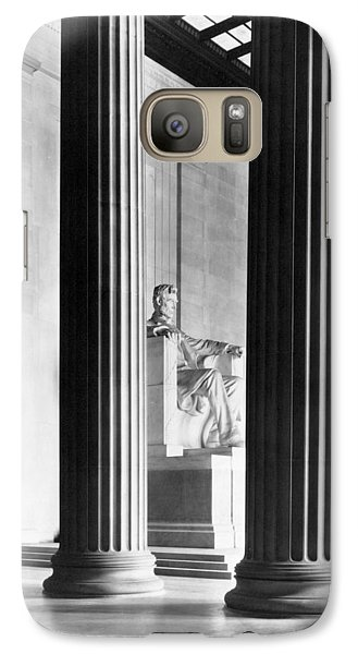 Lincoln Memorial Galaxy S7 Case - The Lincoln Memorial by War Is Hell Store