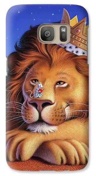 Mouse Galaxy S7 Case - The Lion King by Jerry LoFaro
