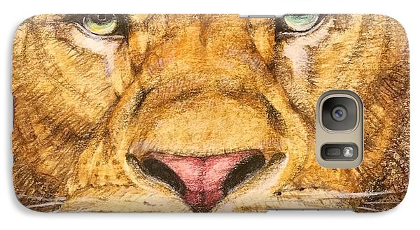 The Lion Roar Of Freedom Galaxy S7 Case by Kent Chua