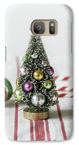Galaxy Case featuring the photograph The Little Christmas Tree by Kim Hojnacki