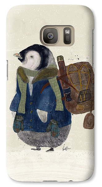 Galaxy Case featuring the painting The Little Explorer by Bri B