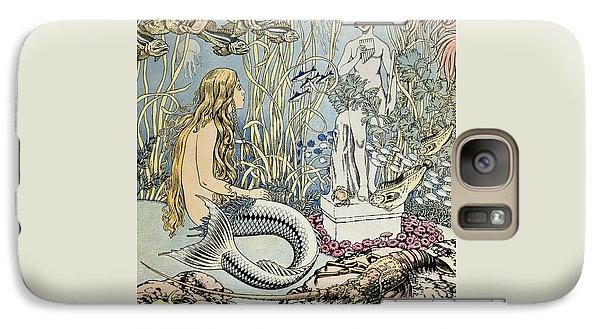 The Little Mermaid Galaxy S7 Case by Ivan Jakovlevich Bilibin