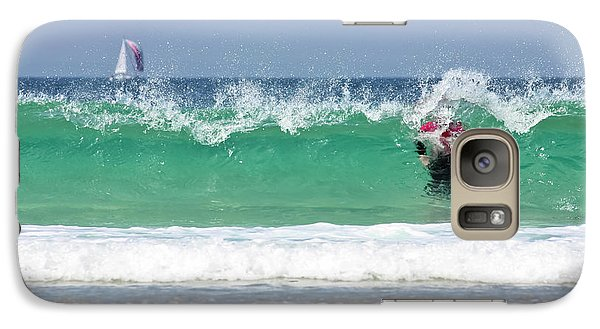 Galaxy Case featuring the photograph The Little Mermaid by Terri Waters