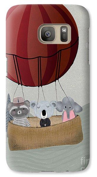 Koala Galaxy S7 Case - The Littlest Adventure by Bleu Bri