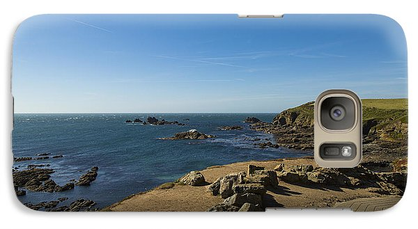 Galaxy Case featuring the photograph The Lizard Point by Brian Roscorla