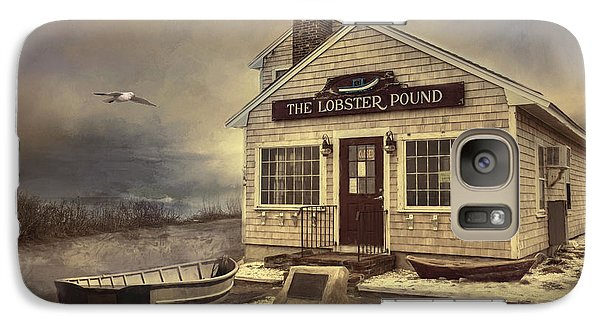 Galaxy Case featuring the photograph The Lobster Pound by Robin-Lee Vieira