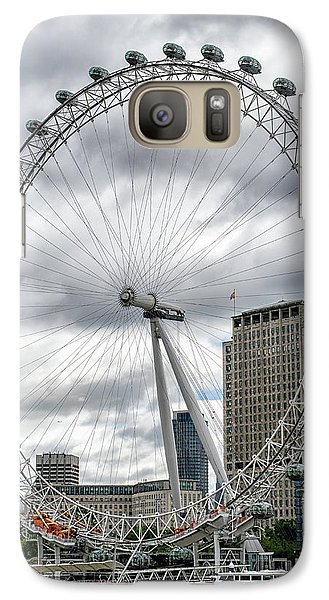 Galaxy Case featuring the photograph The London Eye by Alan Toepfer